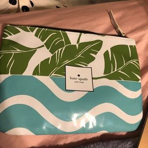 Kate Spade Large Flower Pouch